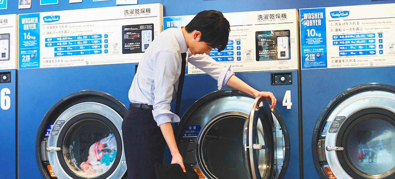 ホームクリーニングできる〈スーツセレクト〉4Sスーツでいつでも清潔!丸洗いできるから365日毎日気持ちいい!