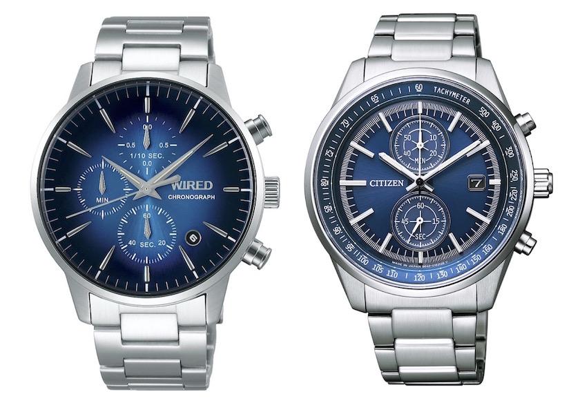 ワイアード、シチズンコレクション……etc. オンオフ問わず使える! 今、欲しいのはブルー文字盤の腕時計