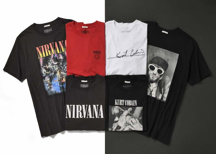 GUでニルヴァーナ&カート・コバーンのTシャツが790円で絶賛発売中!