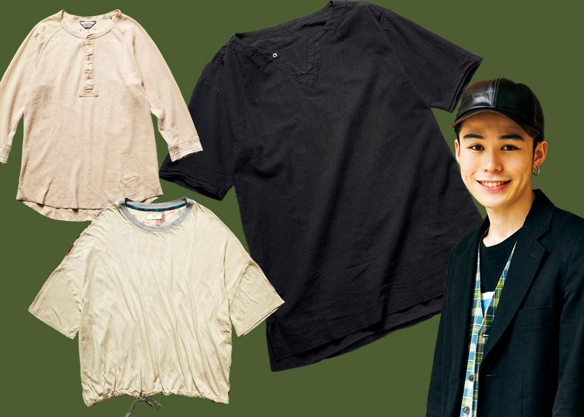 フリークスストアのイケメンスタッフ、八巻宏輔さんが推すTシャツ3枚