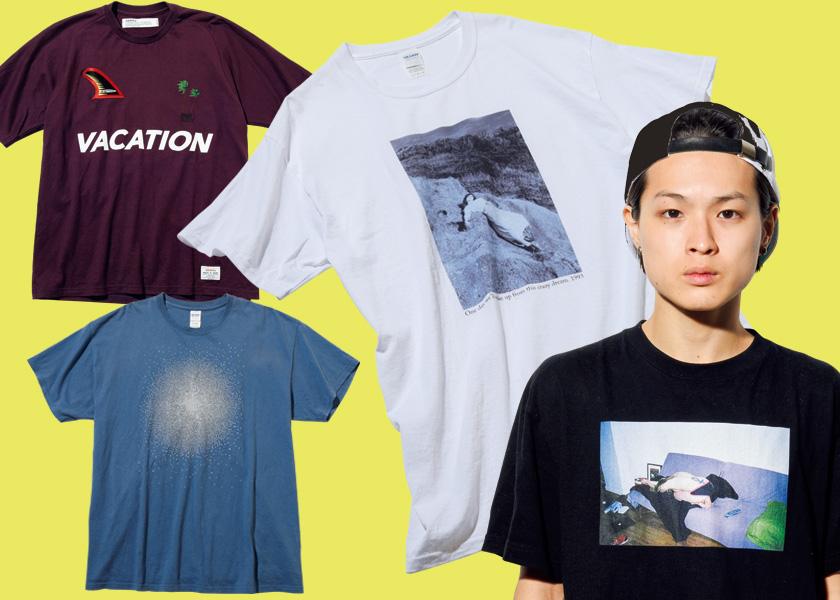 オシャレすぎる美容師Ryutaroさんのお気に入りTシャツを特別公開!