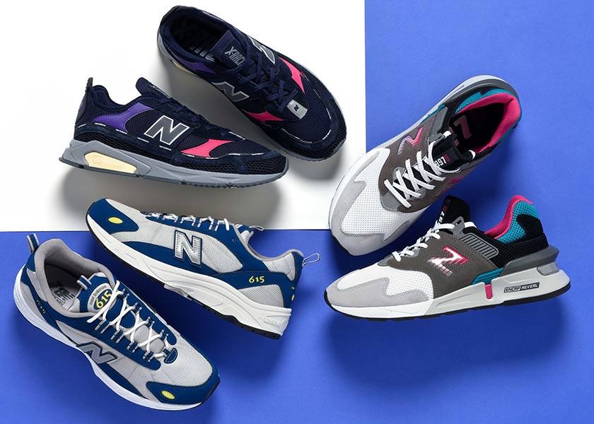 ニューバランスの'90年代を彷彿させるモデルが、最旬デザインにアップデート!