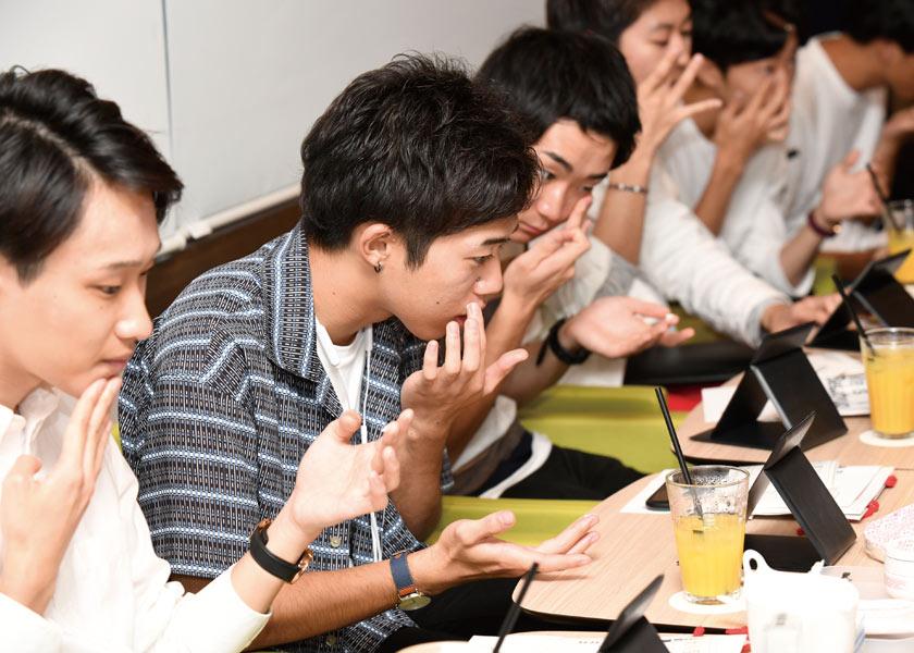 """uno(ウーノ) × 男子大学生""""第一印象は肌が左右する!""""「身だしなみマネジメント」イベントレポート"""