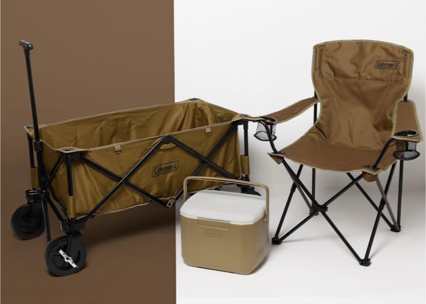 コールマンのワゴン、チェア、クーラーボックスはアーバンリサーチ限定色で決まり!