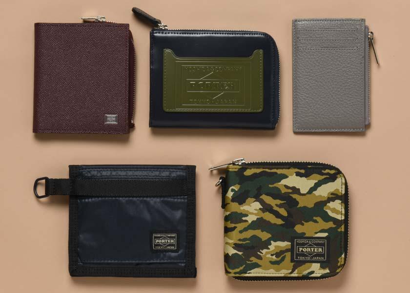 吉田カバン・ポーターの財布は実力派が勢揃い‼