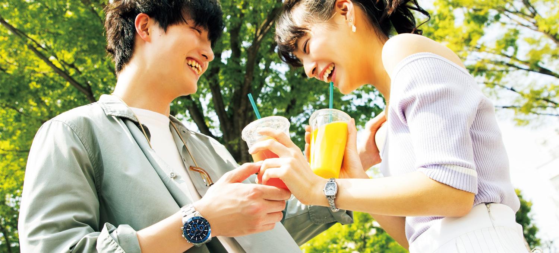 忘れられない思い出になる夏の限定ウオッチはカップルで楽しむ!