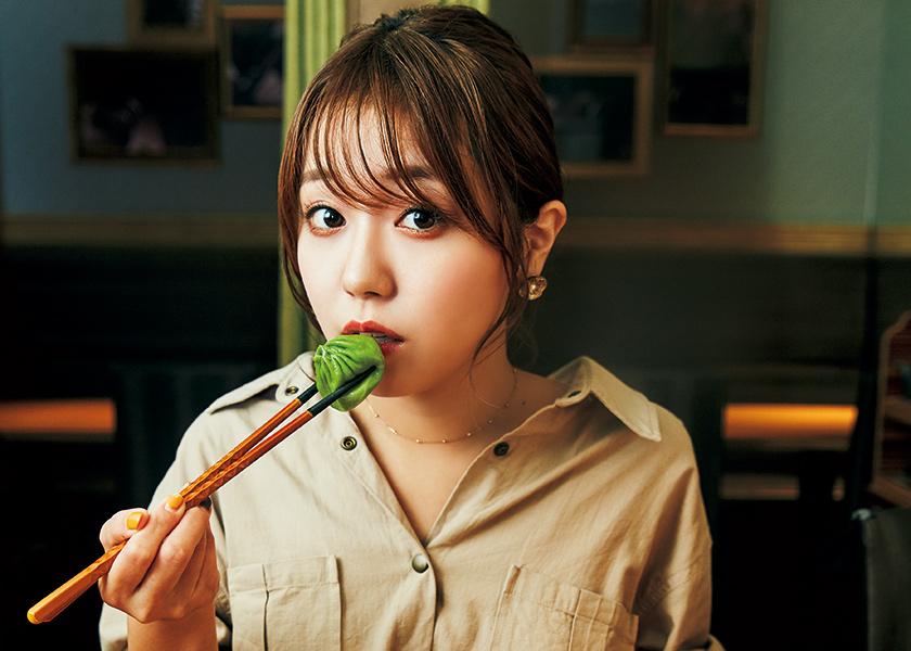 今日、あの子となにを食べにいこうか -激カワ女子図鑑- vol.22早稲田大学4年 南條亜希ちゃんと天丼を食べる。