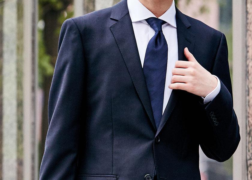 就活ネクタイの選び方&結び方の正解