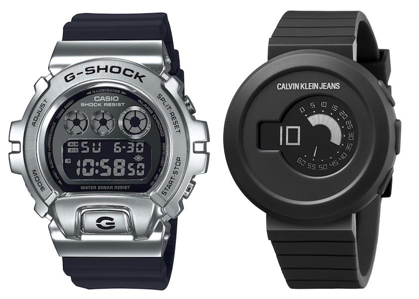 G-SHOCK、アニエスベーetc.新作時計は人気のモノトーン!