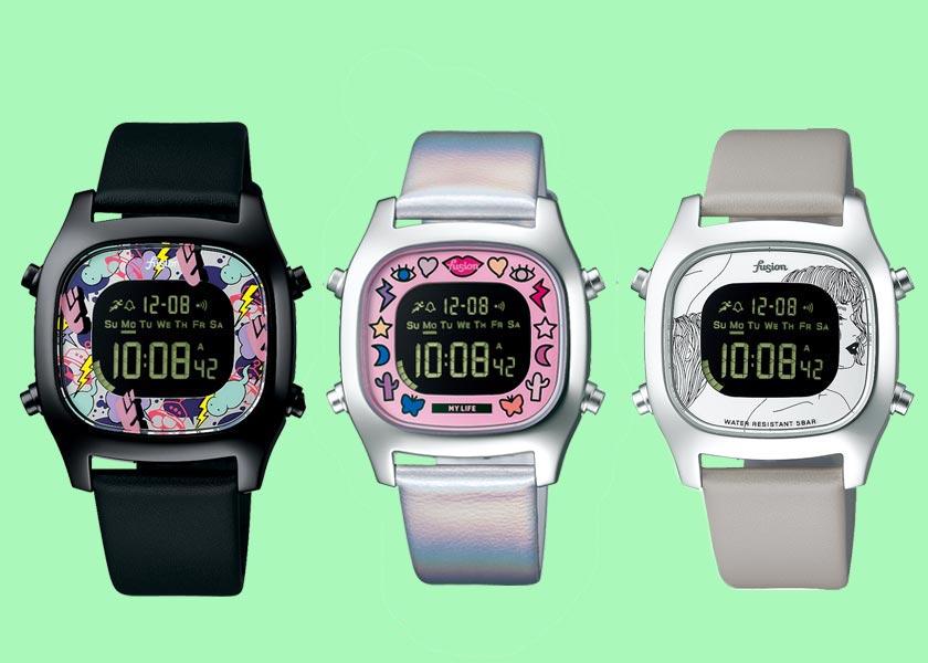 アルバ<フュージョン>の新作限定腕時計は夏コーデのスパイスにうってつけ!