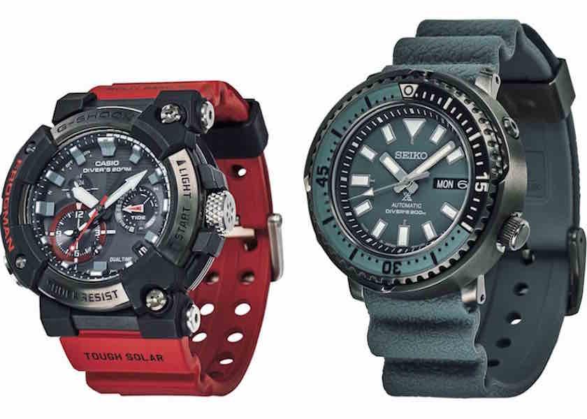 G-SHOCK、セイコー プロスペックスetc.人と違う腕時計を探せ!