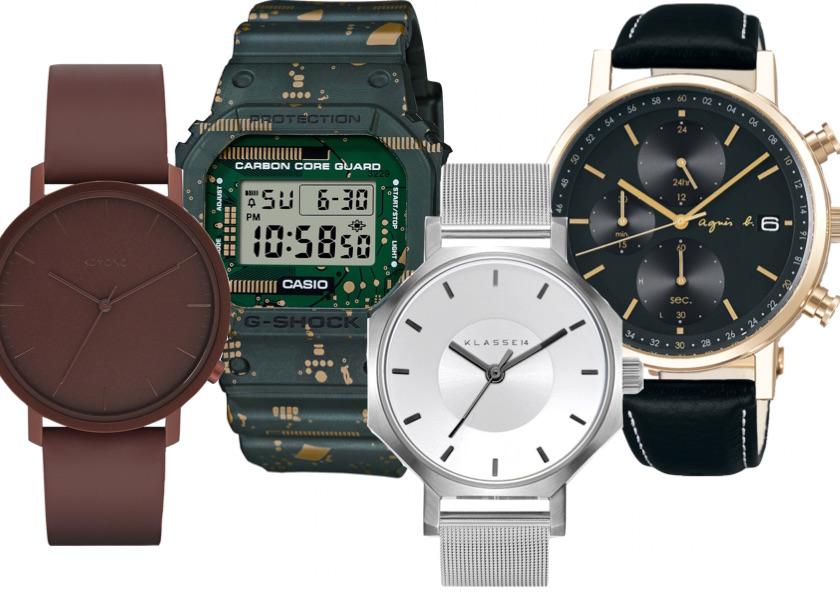 【新作腕時計】G-SHOCK etc.人気ブランドをピックアップ!