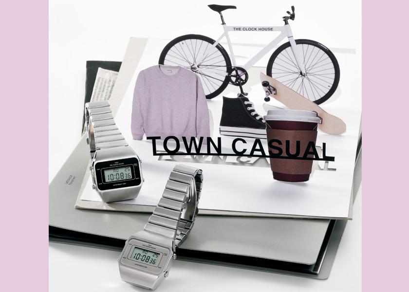どの時計をつけるかは、その日のコーデ次第!ザ・クロックハウスで見つける毎日着替えるリストウエア。