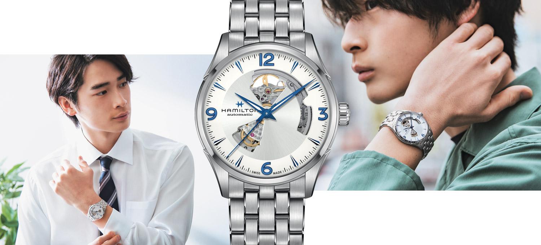 20代に人気の〈ハミルトン〉を新生活に!僕らがSSブレス時計を選ぶ確かな理由。