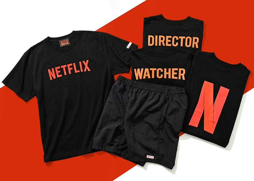 世界初!NetflixとビームスのコラボレーションコレクションでオシャレとNetflixを楽しもう!