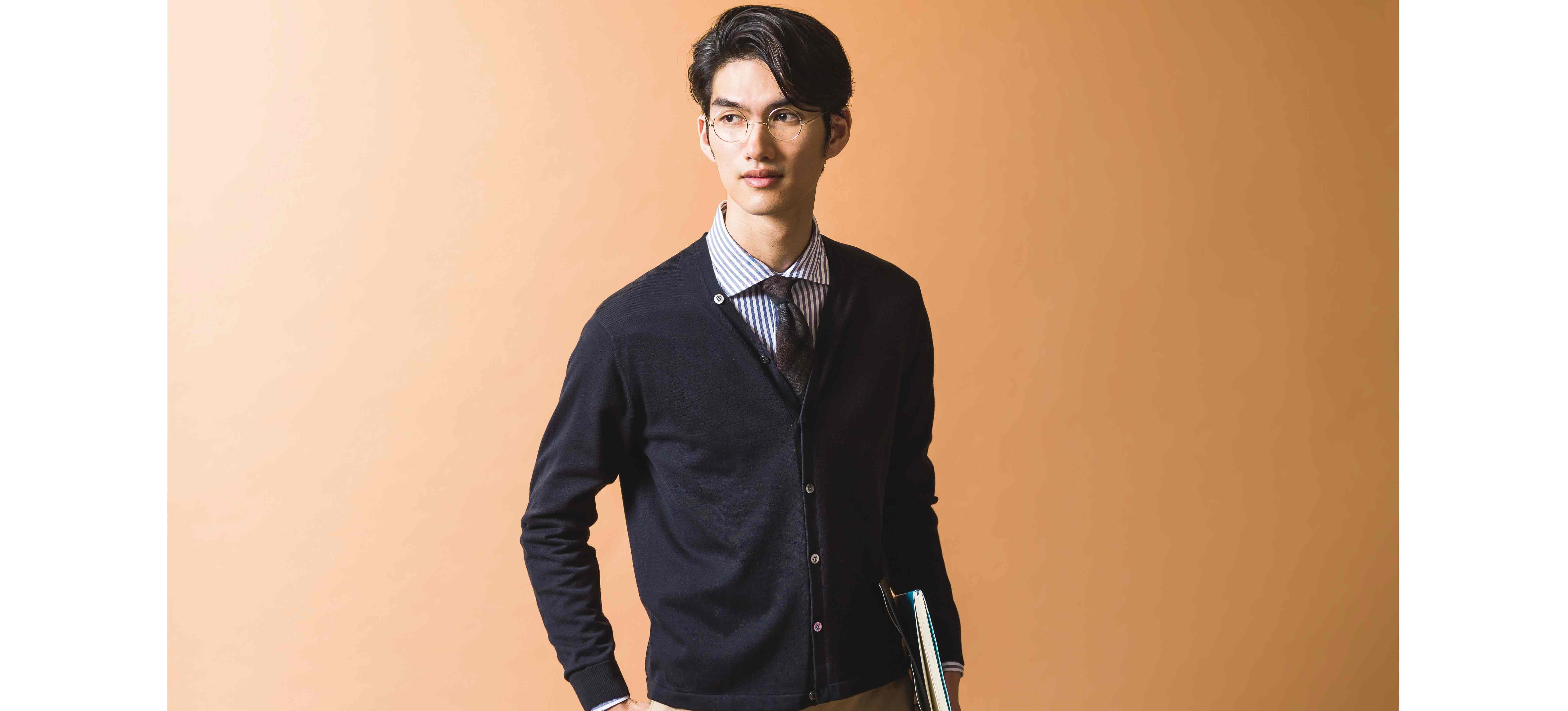 ビジネスマンのワードローブに、〈クロスクローゼット〉の1着を。「本物」が分かる男のシャツ