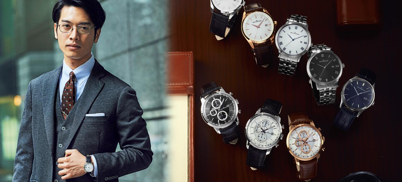 〈ザ・クロックハウス〉のオリジナルウオッチなら叶う!T.P.O.S.別に時計を着替える。